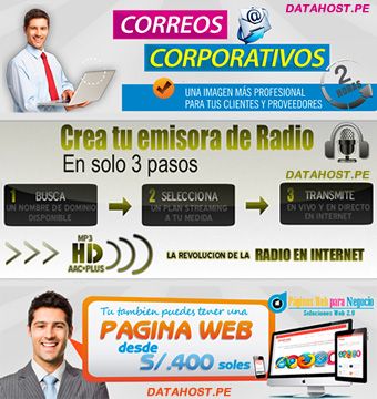 HOSTING, DOMINIOS & STREAMING